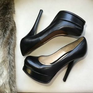 54e37575171 Fendi Shoes - Fendi Fendista double platform Leather heels